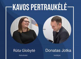 Kavos pertraukėlė su advokate Rūta Globyte